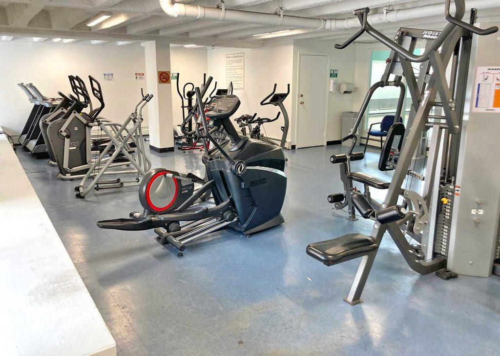 Garden Towers Rental Apartments Calgary - Exercise Room